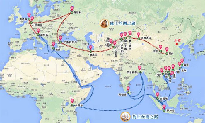 Cartina Climatica Cina.Le Nuove Vie Della Seta Pearson